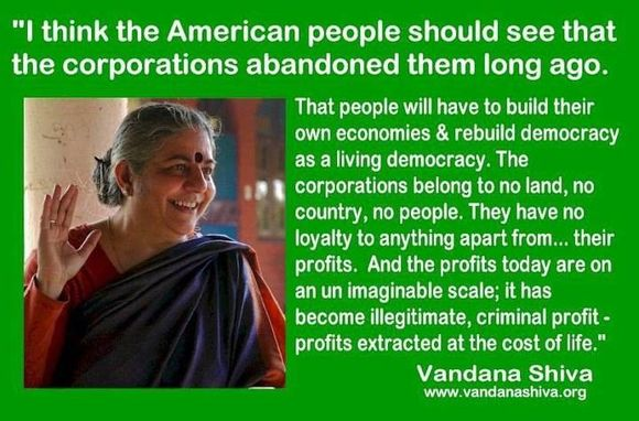 "The corporations aren't American"" any more"